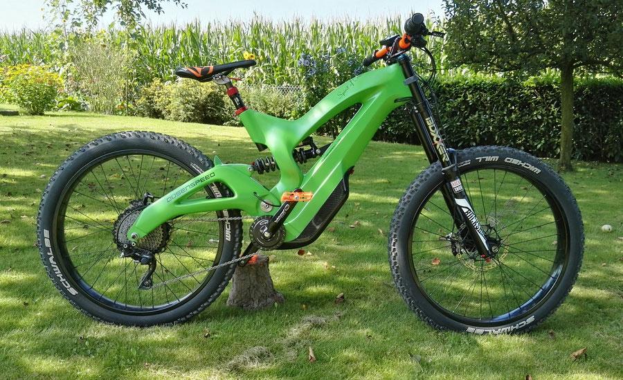 Düsenspeed E-Bike Modell 3
