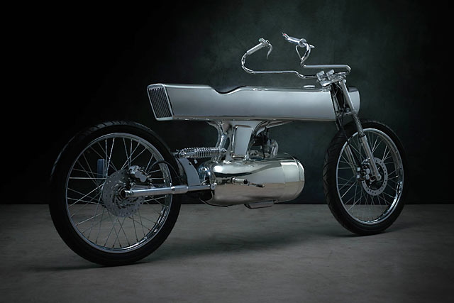 DEEP SPACE 9. The Honda SuperSport 125 'L•Concept' From Bandit9