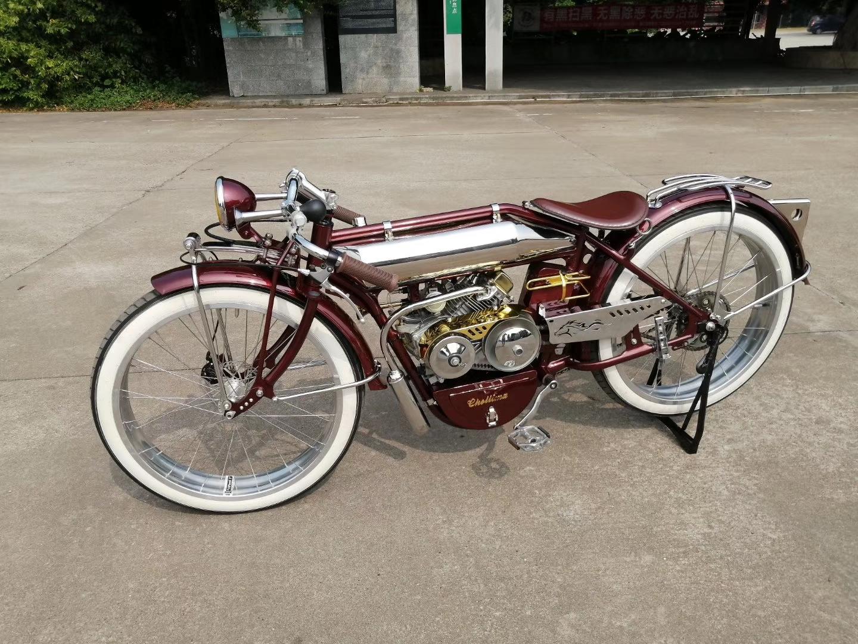 印第安奔马版定制级复古机踏